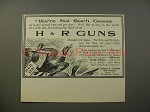 1900 H&R Harrington & Richardson Gun Ad - Geese