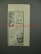 1900 H&R Harrington & Richardson Gun Ad - Fox