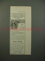 1901 Iver Johnson Semi Hammerless Single Gun Ad