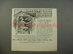 1901 Iver Johnson Boys Gun Ad - No Top or Side Action