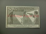 1900 Smith & Wesson Revolvers Gun Ad - Burglar