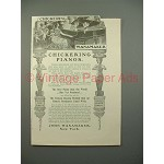 1900 Chickering Piano Ad - Best Yet Produced