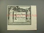 1900 Estey Organ Ad - Easter Music