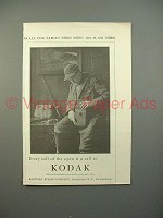 1913 Kodak Camera Ad - Call of The Open