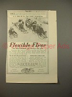 1913 Flexible Flyer Sled Ad - Ideal Gift