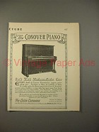 1913 Conver Piano Ad - Made-to-Order Care