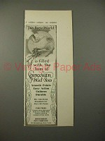 1913 Spencerian Steel Pen Ad - This Busy World