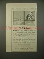 1914 Hart Schaffner & Marx Clothes Ad - Style Book