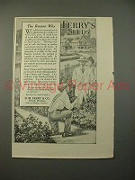 1914 Ferry's Seeds Ad - The Reason Why