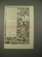 1914 Ferry's Seeds Ad - The Home Garden