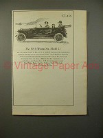 1915 Winton Six, Model 21 Car Ad - NICE!