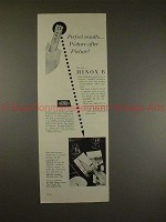 1958 Minox B Camera Ad - Perfect Results, Picture!!