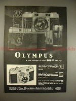 1957 Olympus 35-S Camera Ad - A New Concept of $69.95!!