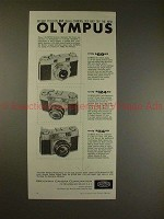 1958 Olympus 35-S & Wide-S Camera Ad - Before You Buy!!