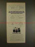 1972 Olympus 35RC Camera Ad - Automatic and Manual!!
