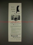 1960 Heiland Pentax H-2 Camera Ad - You Seen it Yet?!