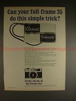 1969 Petri Color 35 Camera Ad - Do This Simple Trick!!