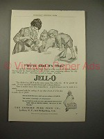 1909 Jell-o Jello Ad - We're Glad it's That!