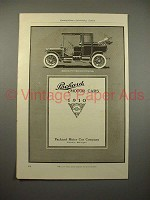 1910 Packard Eighteen Car w/ Landaulet Body Ad!