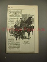 1915 Kranich & Bach Small Grand Piano Ad - Cultured!