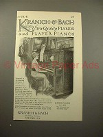 1915 Kranich & Bach Jubilee Player Piano Ad!