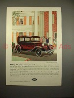 1930 Ford Tudor Sedan Ad - Safely to Journey's End