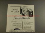1956 Voigtlander Vito B Camera Ad - Smooth Sailing!!