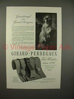 1946 Girard-Perregaux Watch Ad - Gainsborough
