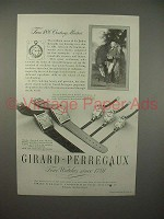 1946 Girard-Perregaux Watch Ad - 18th Century Masters