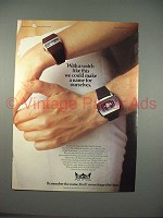 1973 Smiths Astral Digital Watch Ad - Make A Name!