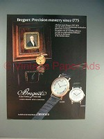 1982 Breguet BA 3000, BA 8110 Watch Ad!