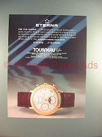 1988 Eterna The 1946 Classic Watch Ad - It is Time!
