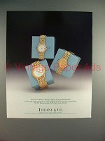 1988 Tiffany & Co. Audemars Piguet Meridien Watch Ad!