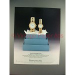 1988 Tiffany & Co. Watch Ad - Introducing Tiffany Time!