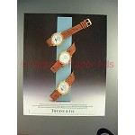 1988 Tiffany & Co. Blancpain Watch Ad - NICE!