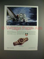 1989 Tag Heuer S/EL Watch Ad - Offshore Racing!