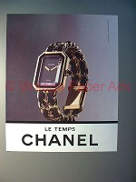 1990 Chanel Le Temps Watch Ad!