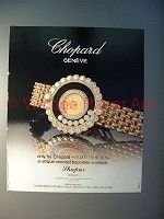 1991 Chopard Happy Diamonds Watch Ad!