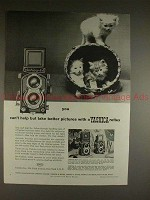 1959 Yashica 44 Camera Ad - Can't Help But Take Better!