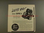 1950 Zeiss Ikon Super A Camera Ad - Let's Go!!