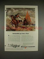 1948 Beechcraft Executive Transport Model 18 Plane Ad