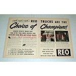 1948 REO Truck Ad - Choice of Champions