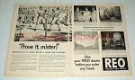 1948 REO Truck Ad - Prove it Mister - Boxing!