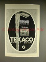 1923 Texaco Gasoline & Motor Oil Ad - High Volatility