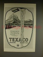 1923 Texaco Gasoline Gas & Motor Oil Ad!