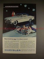 1955 Chrysler Windsor Deluxe Ad - Best in a Blue Moon!