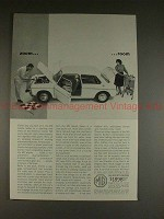1963 MG Sports Sedan Ad - Zoom Room, NICE!!!
