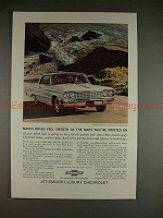 1964 Chevrolet Impala Super Sport Coupe Ad - Smooth!!