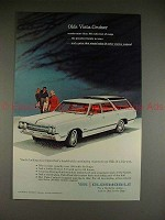 1965 Oldsmobile Vista-Cruiser Station Wagon Ad - NICE!!