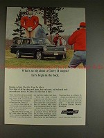1965 Chevrolet Chevy II Wagon Ad - Begin in the Back!!